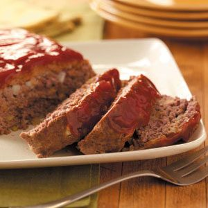 Zesty Horseradish Meat Loaf Recipe