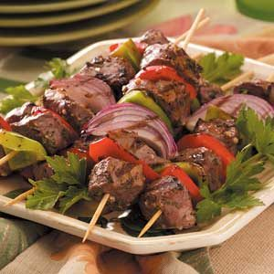 Herbed Lamb Kabobs Recipe
