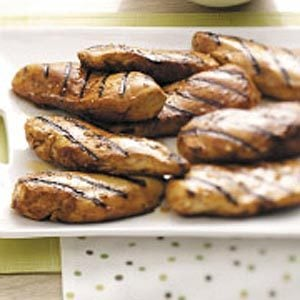 Honey-Grilled Chicken Breasts