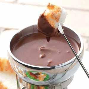Dark Chocolate Fondue Recipe