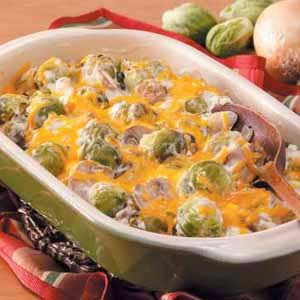 Creamy Brussels Sprouts Bake Recipe