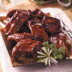 Honey Garlic Ribs Recipe photo by Taste of Home