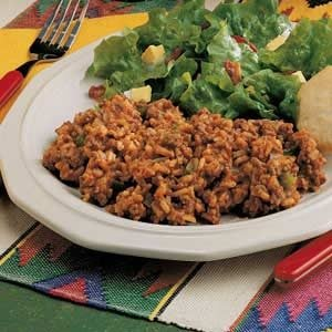 Hamburger Spanish Rice Recipe