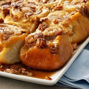 Tender Pecan Sticky Buns Recipe