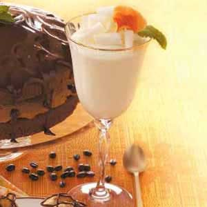 Elegant White Chocolate Mousse