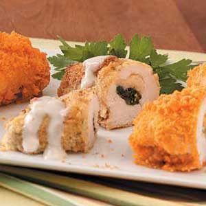Mashed Potato Chicken Roll-Ups Recipe
