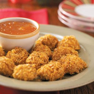 Chicken Bites with Apricot Sauce Recipe