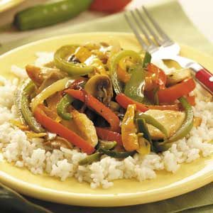 Six-Pepper Chicken Recipe
