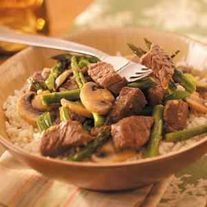 Asparagus Beef Stir-Fry Recipe