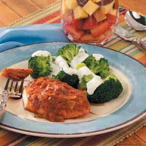Broccoli with Lemon Sauce Recipe