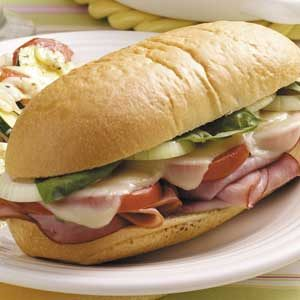 Hot Italian Ham Subs Recipe