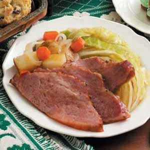 Corned Beef Supper