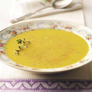 Creamy Curried Carrot Soup Recipe