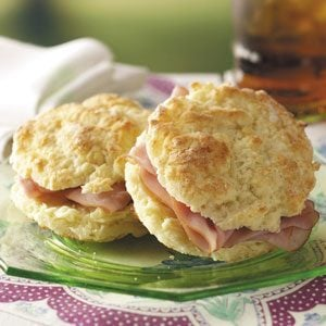Ham on Biscuits Recipe