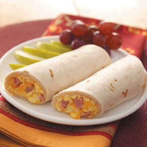 Breakfast Wraps Recipe