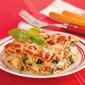 Pesto Chicken Lasagna