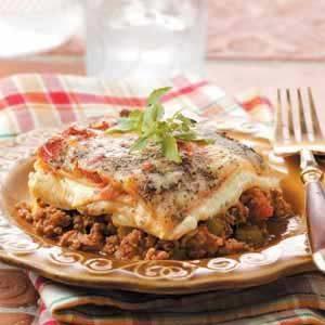 Beef 'n' Sausage Lasagna