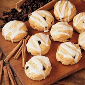 Cinnamon Raisin Biscuits Recipe