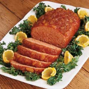 Pineapple Ham Loaf Recipe