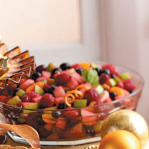 Festive Cranberry Fruit Salad Recipe