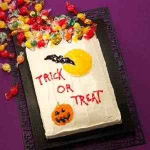 Trick-or-Treat Cake Recipe