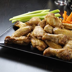 Peanut Chicken Wings Recipe