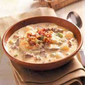 Cheeseburger Paradise Soup Recipe