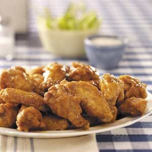 Buttery Hot Wings Recipe