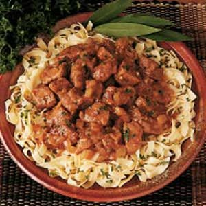 Beef and Onion Stew Recipe