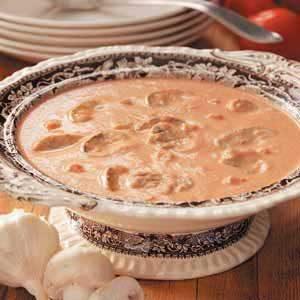 Mushroom Tomato Bisque Recipe