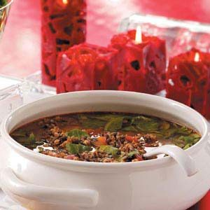 Sausage Wild Rice Soup
