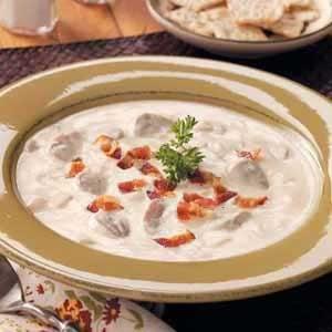 Creamy Bacon Mushroom Soup Recipe