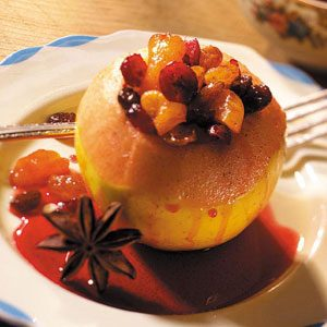 Delicious Stuffed Baked Apples