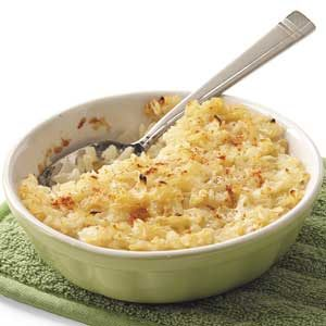 Sweet Onion Rice Casserole Recipe