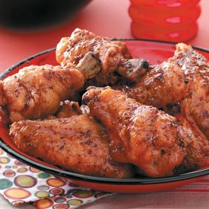 Sweet 'n' Spicy Wings Recipe