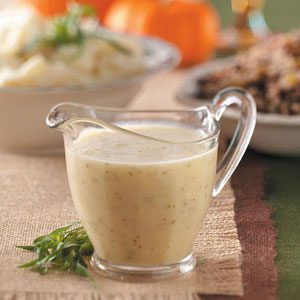Orange Tarragon Gravy Recipe