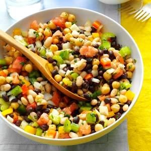 Marinated Three-Bean Salad Recipe