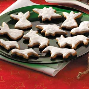 Nativity Molasses Cookies Recipe