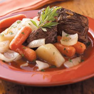 Garlic Pot Roast