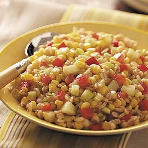 Texas Barley Salad Recipe