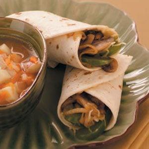 Teriyaki Veggie Wraps Recipe