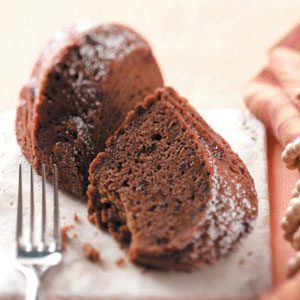 Makeover Spiced Cocoa-Apple Cake Recipe