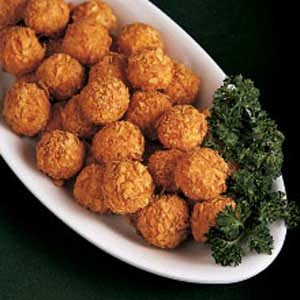Crunchy Potato Balls Recipe