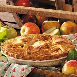 Cinnamon Caramel-Crunch Apple Pie Recipe