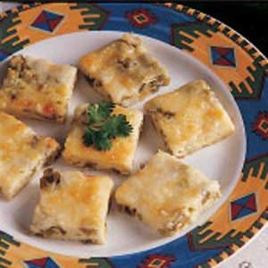 Chili Relleno Squares Recipe