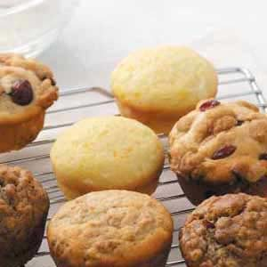 Orange Yogurt Muffins Recipe