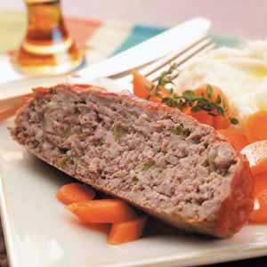 Beef 'n' Turkey Meat Loaf Recipe