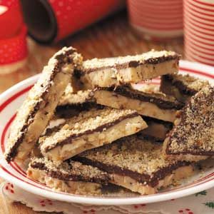 Double-Nut English Toffee Recipe