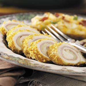 Chicken Cordon Bleu Rolls