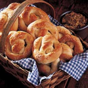 Homemade Soft Pretzels Recipe